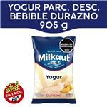 Yogur Entero MILKAUT Durazno Bebible 1 Kg