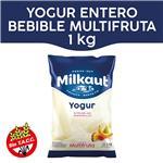 Yogur Entero MILKAUT Multifruta Bebible 1 Kg