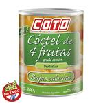 Coctel De Frutas COTO Diet Frasco 800 Gr
