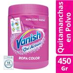 Quitamanchas Vanish Power O2 Pote 450 Gr