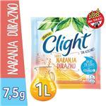 Jugo En Polvo CLIGHT Naranja Durazno Light   Sobre 7.5 Gr