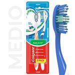 Cepillo Dental Colgate Triple Acción Medio 2unid