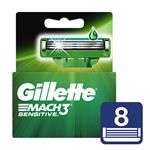 Cartucho GILLETTE Mach3 Sensitive Blister 8 Unidades