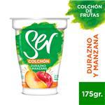 Yogur SER Con Frutas Manzana Y Durazno 175 Gr