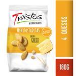 Tostaditas Cuatro Quesos Twistos Paq 180 Grm