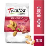 Tostaditas Jamon Iberico Twistos Paq 180 Grm