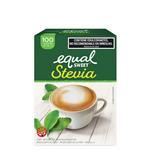 Edulcorante EQUALSWEET Stevia Caja Sobres X 100