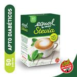 Edulcorante EQUALSWEET Stevia Caja Sobres X 50