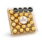 Bombones FERRERO ROCHER 24 Uni Est 300 Grm
