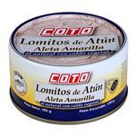 Atun Aleta Amarilla Al Natural COTO Lata 185 Gr