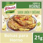 Bolsa Para Horno KNORR Limón Y Orégano 21 Gr