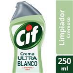 Limpiador Cremoso Cif Ultra Blanco 250 Ml
