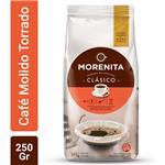 Café Torrado Molido LA MORENITA    Paquete 250 Gr