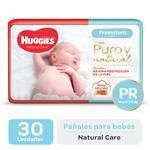 Pañal HUGGIES Natural Care Prx30