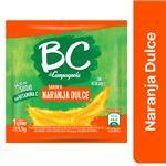 Jugo En Polvo BC Naranja Dulce Sobre 9.5 Gr