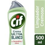 Limpiador Cremoso Cif Ultra Blanco 500 Ml