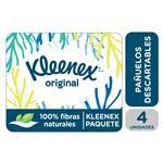 Pañuelo Descartable Kleenex Paquete X4