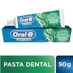 Pasta Dental Oral-B Complete Doble Explosión Menta Refrescante 90 G