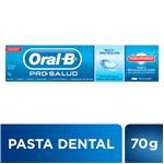 Crema Dental ORAL B Pro-salud Escudo Antiazúcar Pomo 70 Gr