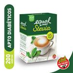 Edulcorante EQUALSWEET Stevia Caja Sobres X 200