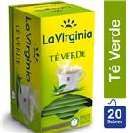 Té Verde LA VIRGINIA     Caja 20 Saquitos