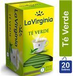 Té Verde LA VIRGINIA     Caja 20 Saquitos