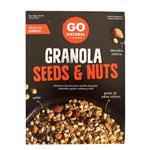 Granola Seeds & Nuts Go Natural Cja 250 Grm