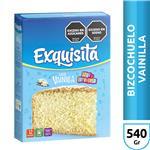 Polvo Para Bizcochuelo EXQUISITA Vainilla Caja 540 Gr