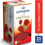 Té Frutilla LA VIRGINIA     Caja 20 Saquitos