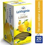 Té Limón LA VIRGINIA     Caja 20 Saquitos