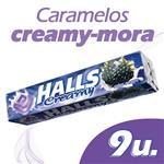 Caramelos Creamy Mora HALLS Paq 27 Grm