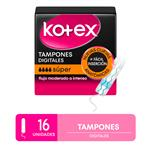 Tampones Kotex Super X16
