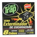 Insect.Cebos Cebo Extermina Cuca Trap Cja 8 Uni