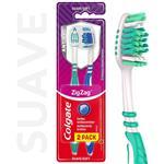 Cepillo Dental Colgate Zig Zag Plus Suave 2unid