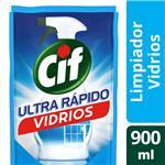 Limpiador Líquido CIF Vidrios Repuesto 900 Ml
