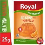 Gelatina ROYAL Naranja Light   Sobre 25 Gr