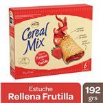 Barra De Cereal Cerealmix Frutilla Cja 192 Grm