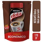 Café Instantáneo Nescafe Dolca Más Fácil De Batir Doypack X 170gr