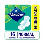 Toalla Femenina Nosotras Plus Paq 16 Uni