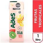 ADES Soja + Jugo De Frutas Tropicales 1 Lt