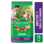 Alimento (adultos 7+) PURINA DOG CHOW 15 Kg