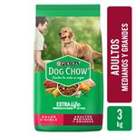 Alimento Adultos PURINA DOG CHOW 3 Kg