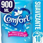 Suavizante Para Ropa Comfort Clásico 900 Ml