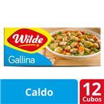 Caldo En Cubo Wilde De Gallina 12 Unidades