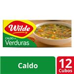 Caldo   WILDE Verduras     Caja 114 Gr