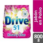 Jabón En Polvo DRIVE Rosas Y Lilas 800 Gr
