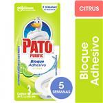 Limpiador Adhesivo Para Inodoros PATO Citrus 24.6gr