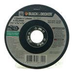 Disco Abrasivo Corte Plano 115mm Black & Decker