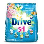Jabón En Polvo DRIVE Hortencias Y Flores Blancas Paquete 800 Gr