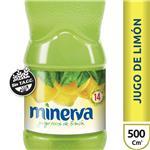 Jugo De Limón MINERVA Botella 500 Cc